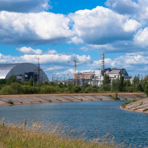 Widok elektrownia